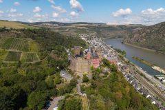 Oberwesel am Rhein mit Schönburg