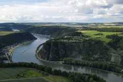 Sankt Goar am Rhein-Loreley1-Pano