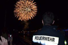 Sankt Goar am Rhein-Rhein in Flammen